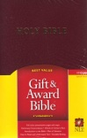 NLT Gift and Award Bible - Burgundy - GAB